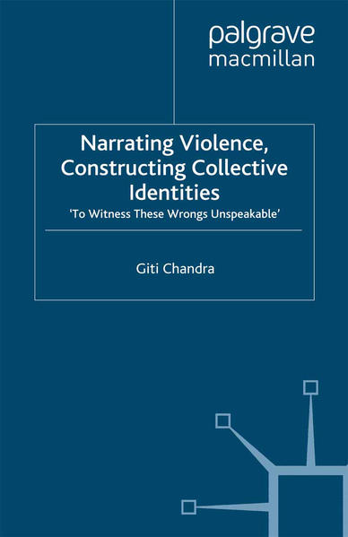 Narrating Violence, Constructing Collective Identities - Coverbild