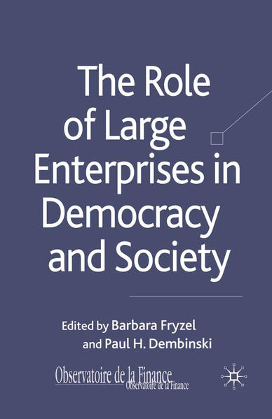 The Role of Large Enterprises in Democracy and Society - Coverbild