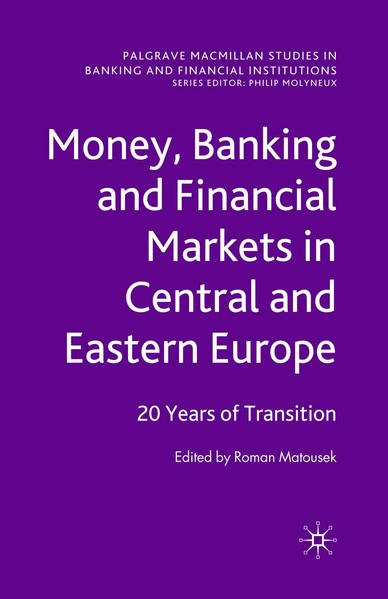 Money, Banking and Financial Markets in Central and Eastern Europe - Coverbild