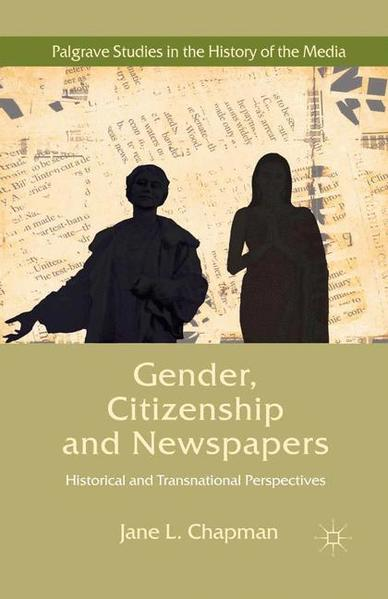 Gender, Citizenship and Newspapers - Coverbild