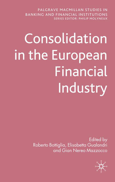 Consolidation in the European Financial Industry - Coverbild