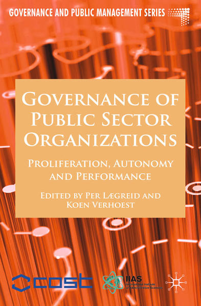 Governance of Public Sector Organizations - Coverbild