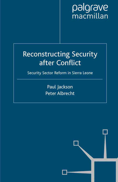 Reconstructing Security after Conflict - Coverbild