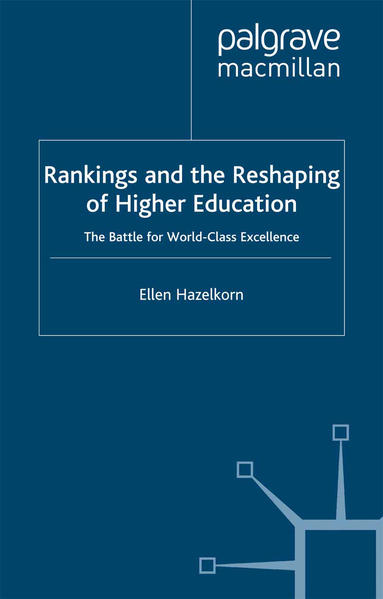 Rankings and the Reshaping of Higher Education - Coverbild