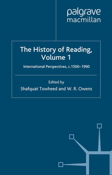 The History of Reading - Coverbild