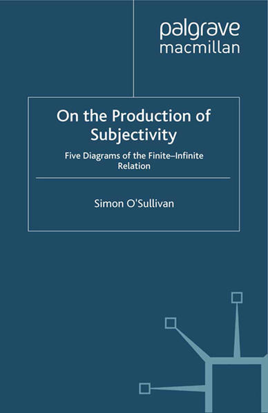 On the Production of Subjectivity - Coverbild