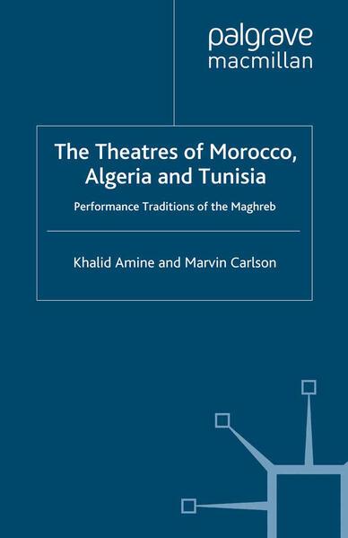 The Theatres of Morocco, Algeria and Tunisia - Coverbild