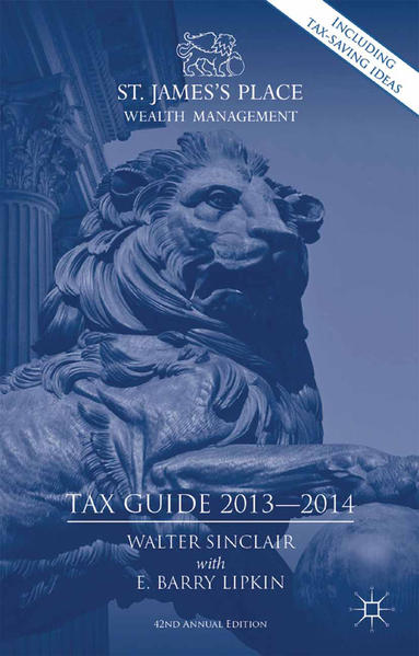 St. James's Place Tax Guide 2013-2014 - Coverbild