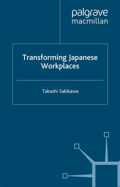 Transforming Japanese Workplaces - Coverbild