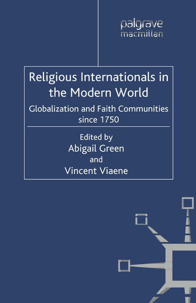 Religious Internationals in the Modern World - Coverbild