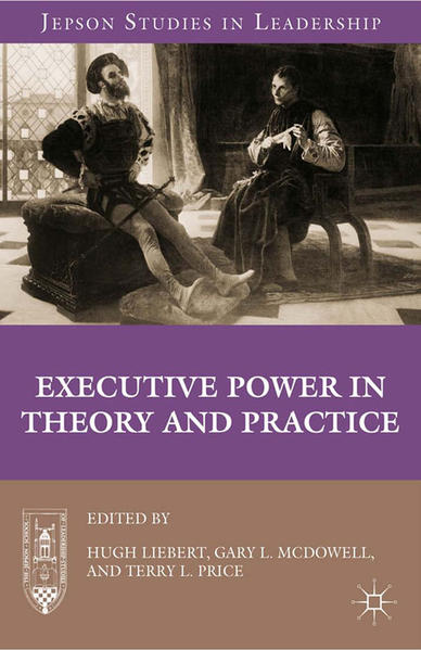 Executive Power in Theory and Practice - Coverbild