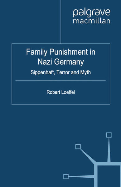 Family Punishment in Nazi Germany - Coverbild