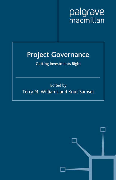 Project Governance - Coverbild