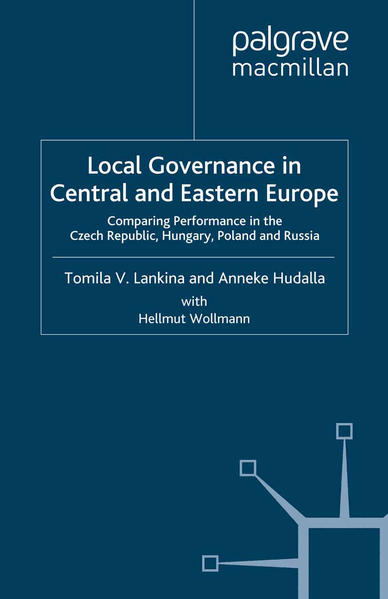 Local Governance in Central and Eastern Europe - Coverbild