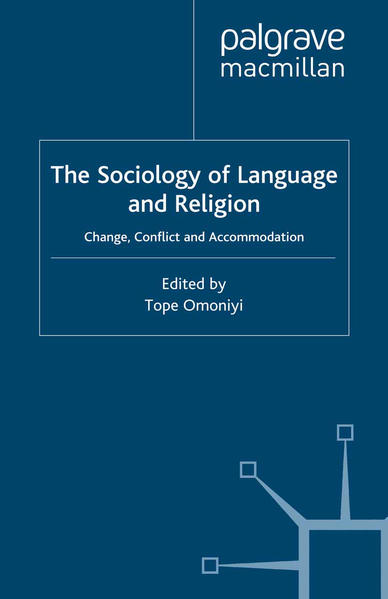 The Sociology of Language and Religion - Coverbild