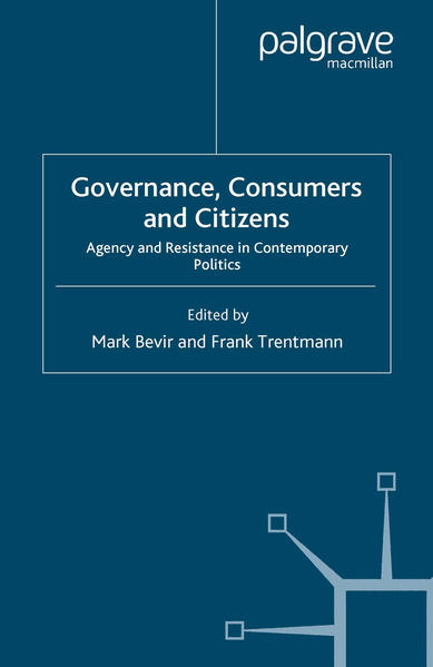 Governance, Consumers and Citizens - Coverbild