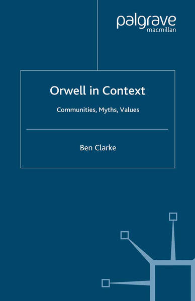 Orwell in Context - Coverbild