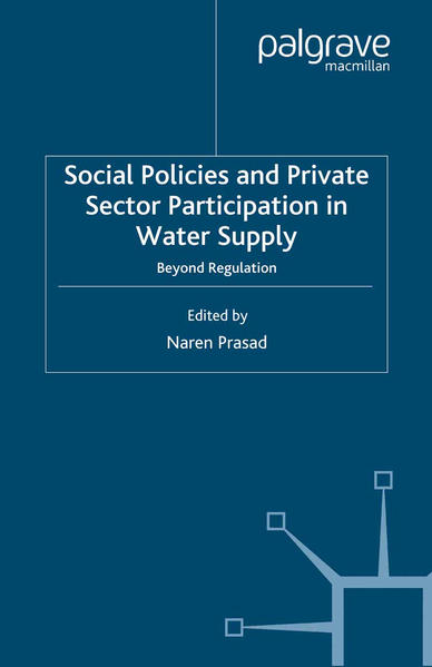 Social Policies and Private Sector Participation in Water Supply - Coverbild