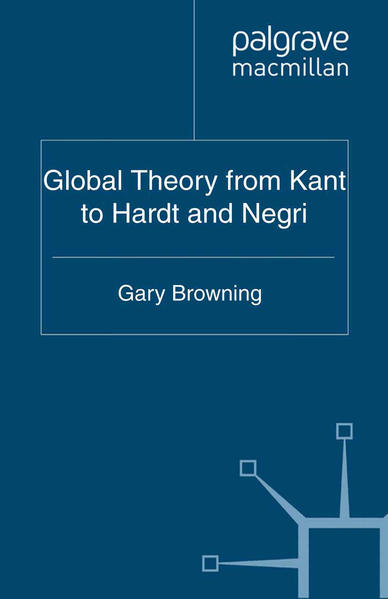 Global Theory from Kant to Hardt and Negri - Coverbild