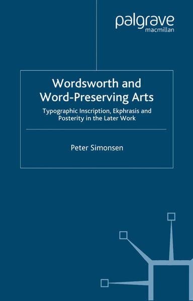Wordsworth and Word-Preserving Arts - Coverbild