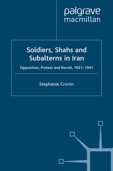 Soldiers, Shahs and Subalterns in Iran - Coverbild