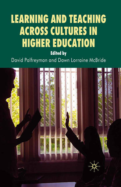 Learning and Teaching Across Cultures in Higher Education - Coverbild