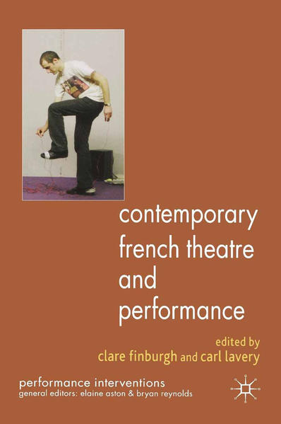 Contemporary French Theatre and Performance - Coverbild