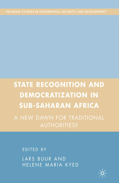 State Recognition and Democratization in Sub-Saharan Africa - Coverbild