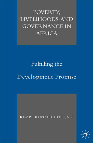 Poverty, Livelihoods, and Governance in Africa - Coverbild