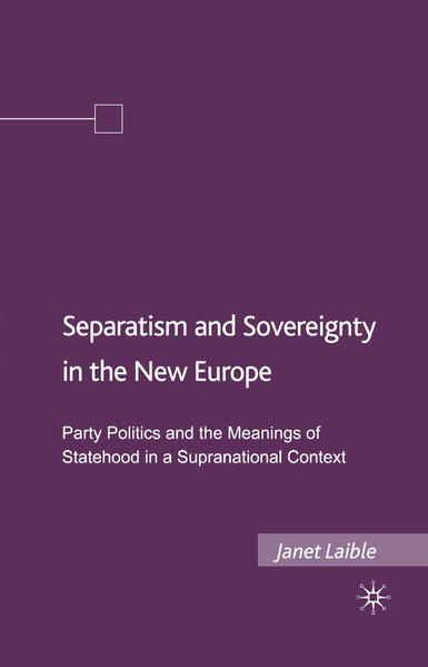 Separatism and Sovereignty in the New Europe - Coverbild