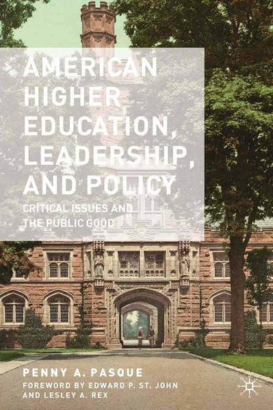 American Higher Education, Leadership, and Policy - Coverbild
