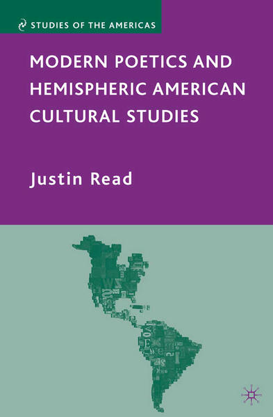 Modern Poetics and Hemispheric American Cultural Studies - Coverbild