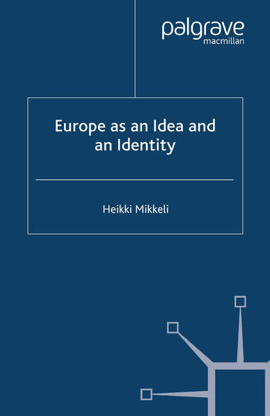 Europe as an Idea and an Identity - Coverbild