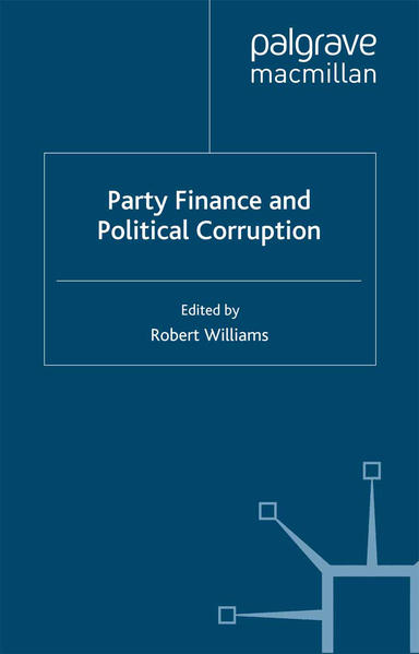 Party Finance and Political Corruption - Coverbild