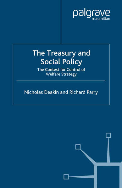 The Treasury and Social Policy - Coverbild