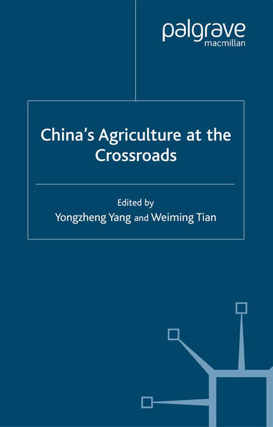 China's Agriculture at the Cross Roads - Coverbild