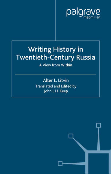 Writing History in Twentieth-Century Russia - Coverbild