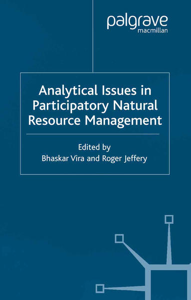 Analytical Issues in Participatory Natural Resources - Coverbild