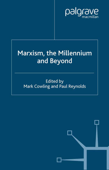 Marxism, the Millennium and Beyond - Coverbild