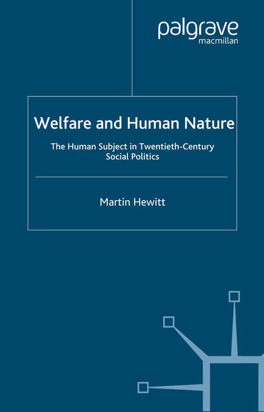 Welfare and Human Nature - Coverbild