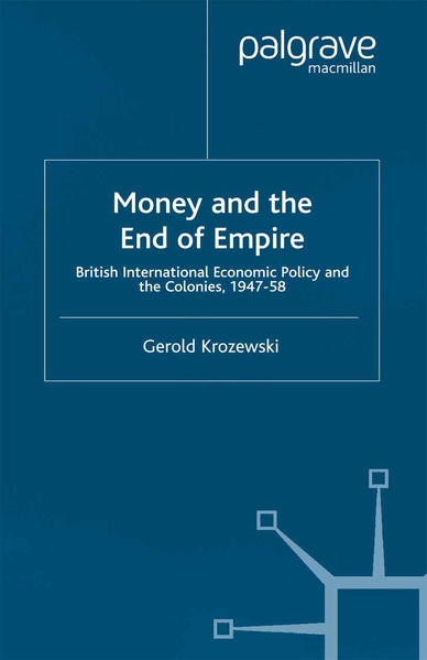Money and the End of Empire - Coverbild