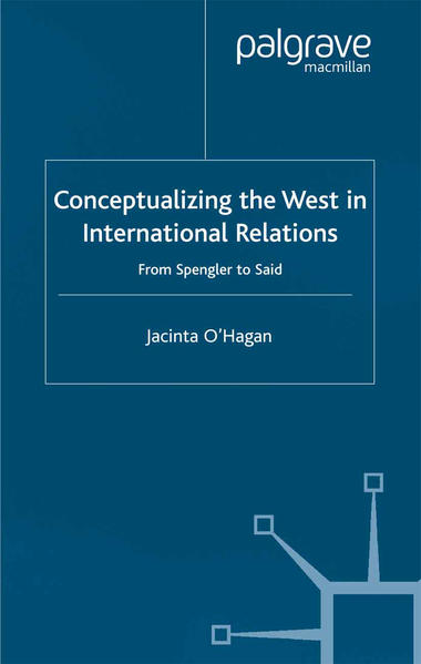 Conceptualizing the West in International Relations Thought - Coverbild