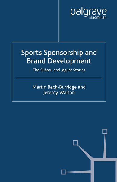 Sports Sponsorship and Brand Development - Coverbild