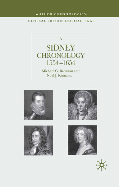 A Sidney Chronology - Coverbild