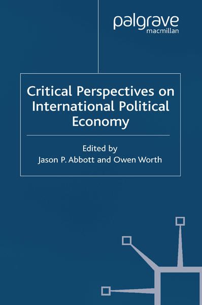 Critical Perspectives on International Political Economy - Coverbild