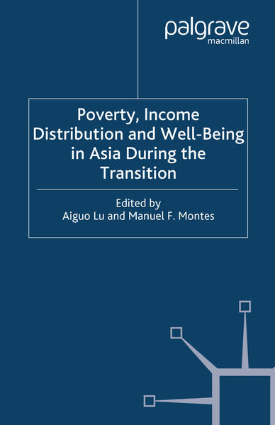 Poverty, Income Distribution and Well-Being in Asia During the Transition - Coverbild