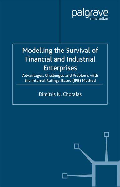 Modelling the Survival of Financial and Industrial Enterprises - Coverbild