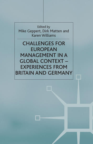 Challenges for European Management in a Global Context - Coverbild