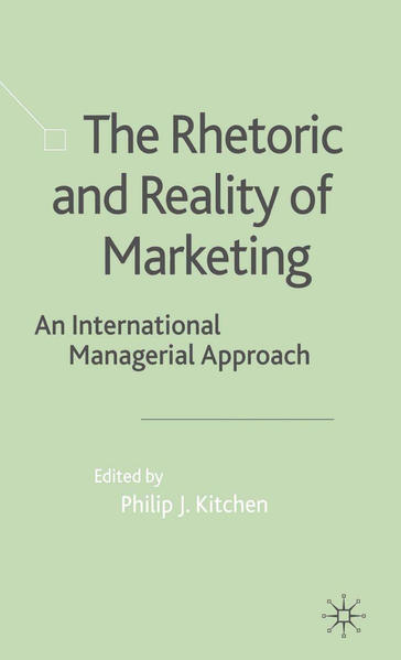 The Rhetoric and Reality of Marketing - Coverbild