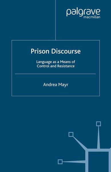Prison Discourse - Coverbild